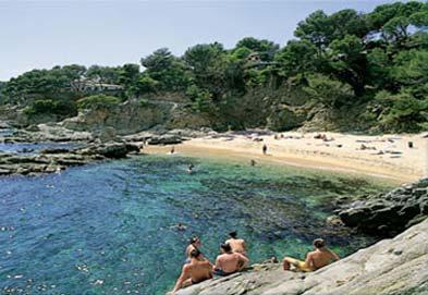 Camping Internacional De Calonge, Playa d'Aro,Costa Brava,Spain