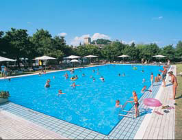 Parco delle Piscine - Eurocamp, Sarteano,Tuscany,Italy