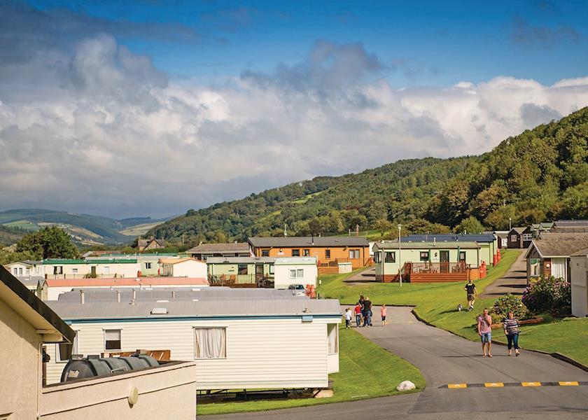 Clarach Bay Holiday Village, Aberystwyth,Ceredigion,Wales