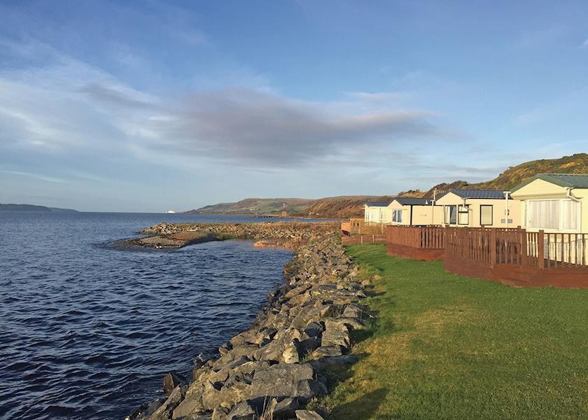 Ryan Bay, Innermessan,Dumfries and Galloway,Scotland