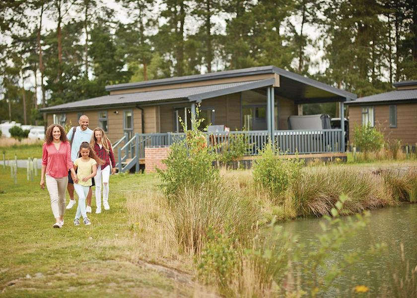 Woodhall Country Park Lodges, Woodhall Spa,Lincolnshire,England