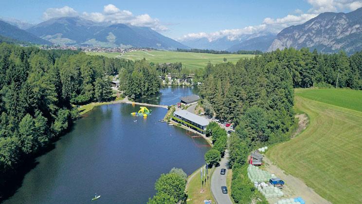 Natterer See, Innsbruck,Tyrol,Austria