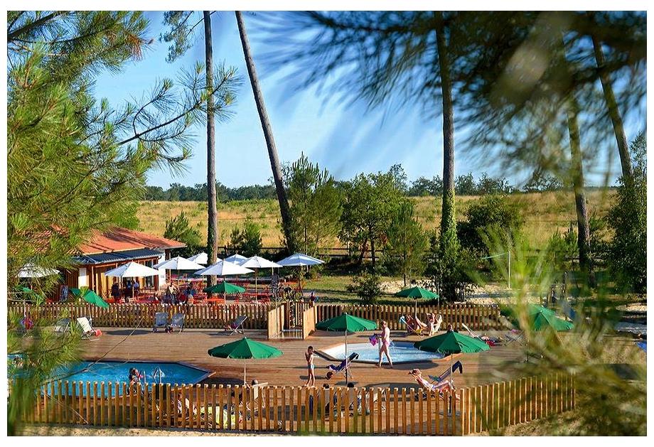 Campsite Huttopia Landes Sud