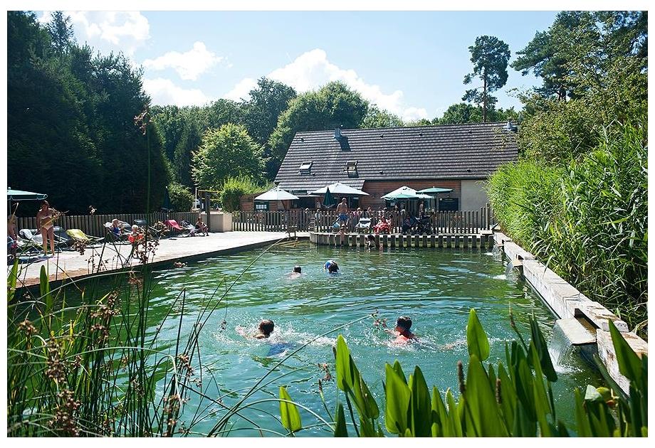 Campsite Huttopia Rambouillet