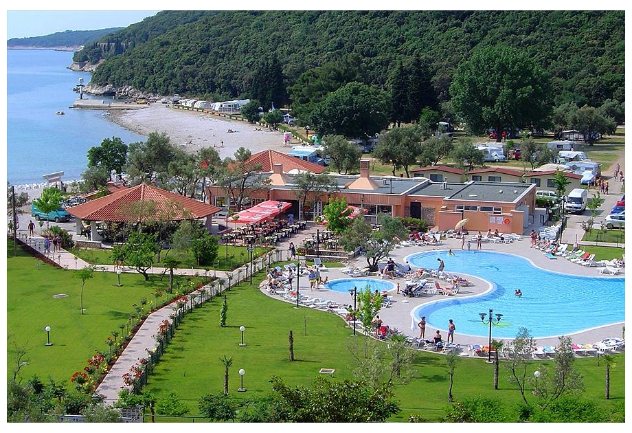 Campsite Autocamp Oliva, Rabac,Istria,Croatia
