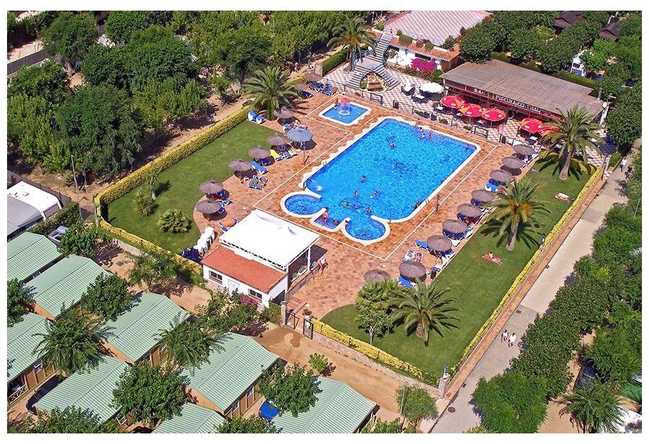 Campsite La Masia, Blanes,Catalonia,Spain