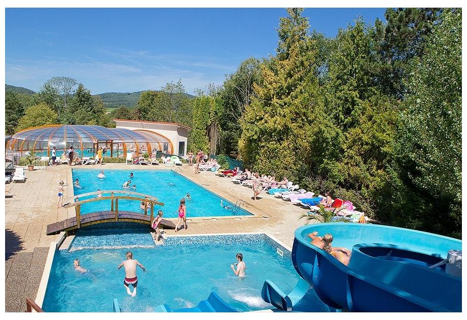 Campsite Le Moulin, Patornay,Franche Comte,France