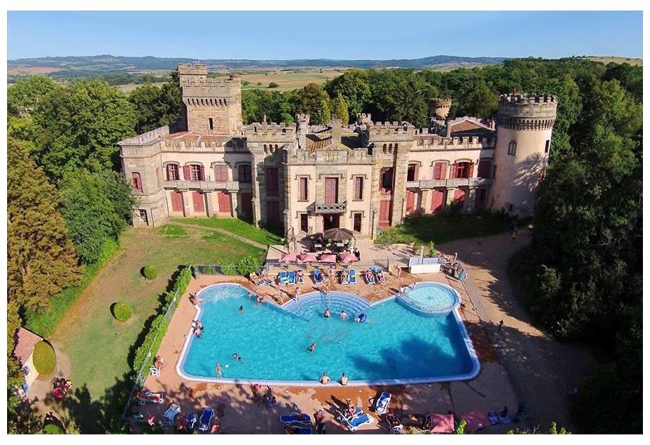 Campsite Chateau de Grange Fort