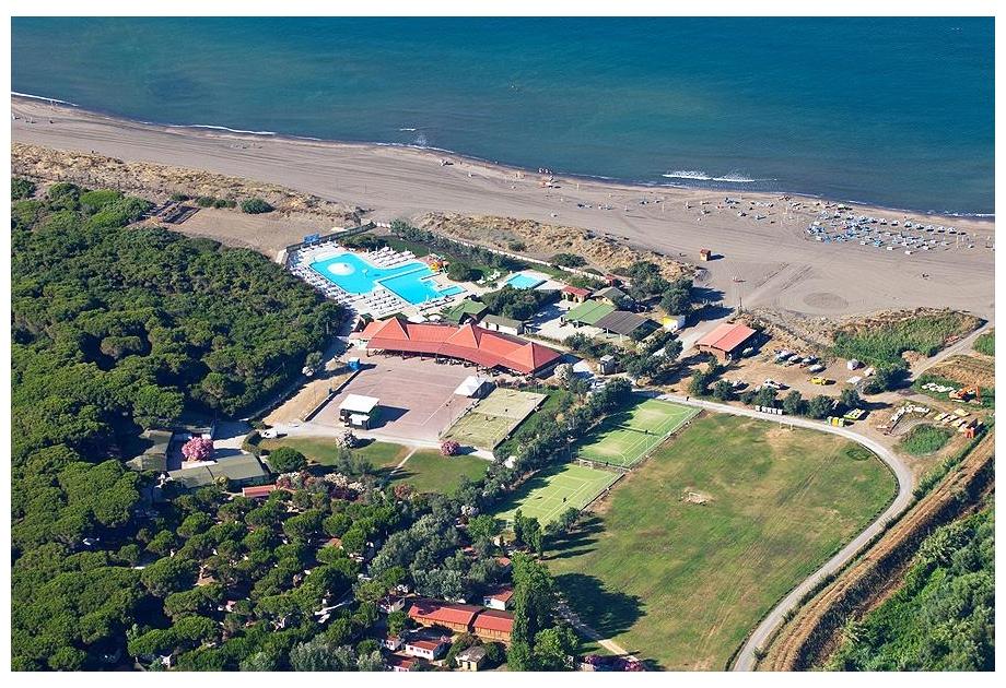 Campsite Europing 2000 srl, Tarquinia,Lazio,Italy